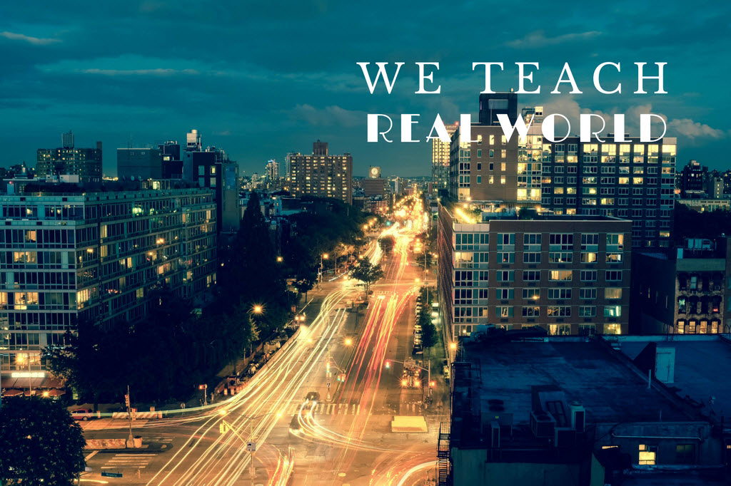 We teach real world_canva